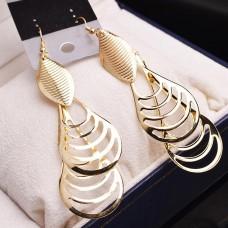 Gyönyörű lógós fülbevaló ezüst vagy arany színben